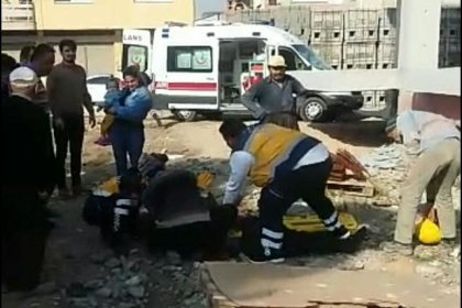 Osmaniye'den altıncı kattan düşen inşaat işçisi yaşamını yitirdi