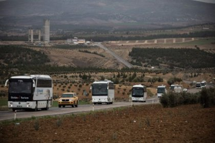 ÖSO militanları sınırdan Suriye tarafına geçirildi