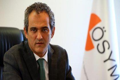ÖSYM Başkanı Özer'den YKS açıklaması