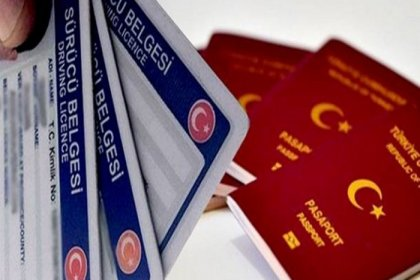 Pasaport, ehliyet harçları ve Motorlu Taşıtlar vergisi oranında yüzde 23.73 artış