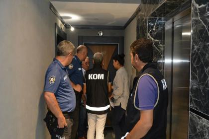 Polisten günübirlik kiralanan evlere operasyon