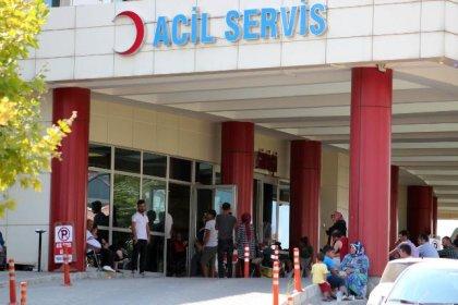 Sakarya'da hastaneye başvuranların sayısı 4 bin 500'ü buldu