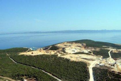 Saros Körfezi'ni katleden kalker ve taş ocaklarına mahkemeden 'ÇED gereklidir' kararı