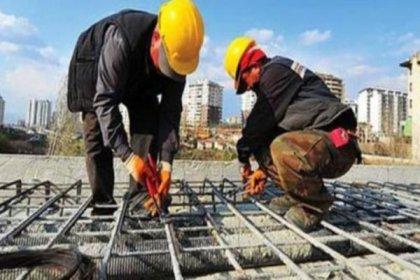 """Sendikalaşmanın en düşük olduğu alan """"inşaat"""" sektörü"""
