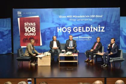 'Sivas-Milli Mücadele'nin 108 Günü' kitabı Beylikdüzü'nde tanıtıldı