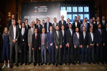 Tahincioğlu Basketbol Süper Ligi'nde fikstür belli oldu
