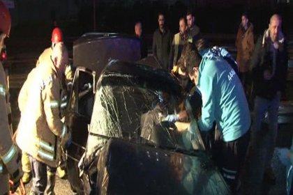 TEM'de zincirleme kaza: 1'i ağır 2 yaralı