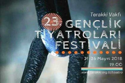 """Terakki Vakfı 23. Gençlik Tiyatroları Festivali başlıyor: """"Özgürlük Sahnesinde Yolculuk"""""""