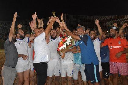 TFF Plaj Futbol Ligi Dikili Etabı'nın şampiyonu belli oldu