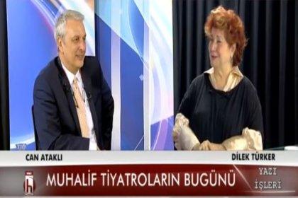 Tiyatro sanatçısı Dilek Türker: Tiyatro sizin yalancı olduğunuzu gösterir, yalan söylemez