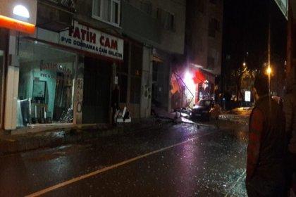 Trabzon'da iş yerinde patlama
