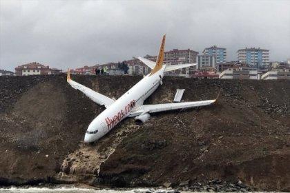 Trabzon'da pistten çıkan uçak, millet kıraathanesi yapılacak