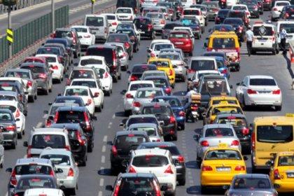 Trafiğe kayıtlı araç sayısı 22 milyon 731 bin oldu