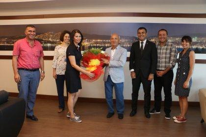 Tüm Yerel Sen'den, Kartal Belediye Başkanı Altınok Öz'e ziyaret