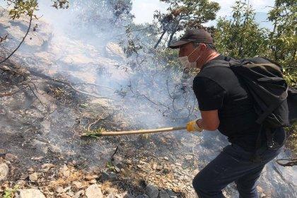 Tunceli'deki orman yangını sürüyor: 'Havadan müdahale edilsin'