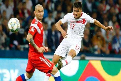 Türkiye, Rusya'ya 2-0 mağlup oldu