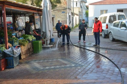Türkiye turizminin gözde merkezlerinden Dikili'de yeni sezon hazırlıkları erken başladı