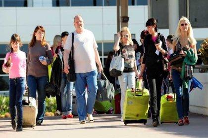 Türkiye'ye en fazla turist Rusya'dan geldi