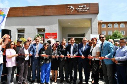 Türkiye'ye örnek projenin 8'incisi Barış Mahallesi'nde açıldı