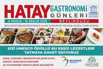 UNESCO ödüllü Hatay lezzetleri Beylikdüzü'nde