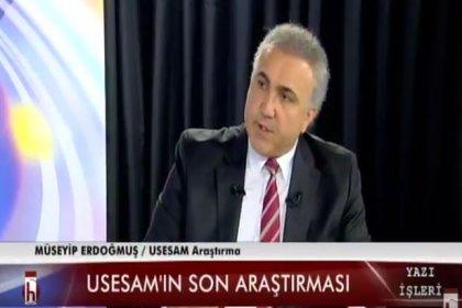 USESAM Yönetim Kurulu Başkanı: AK Parti'ye oy veren seçmenin yüzde 40'ı 'bir daha asla AK Parti'ye oy vermeyeceğim' diyor