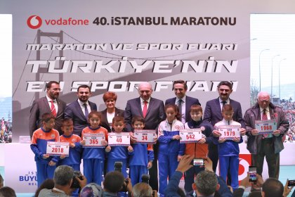 Vodafone 40. İstanbul Maratonu heyecanı başladı