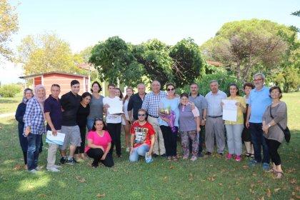 Yalova Belediyesi'ne ait Engelsiz Cafe çalışanları sertifikalarını aldı