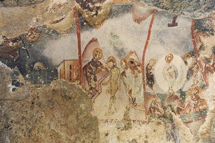 Koruma altına alınmayan freskler, kaderine terk edildi