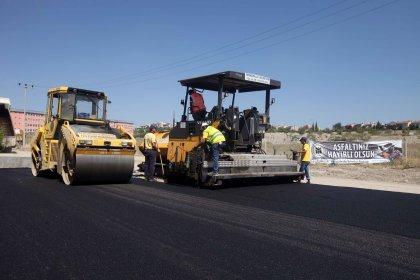 Yenimahalle'ye 200 bin metrekare yeni yol