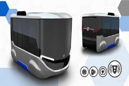 Yerli sürücüsüz elektrikli aracın ilk görüntüleri yayınlandı