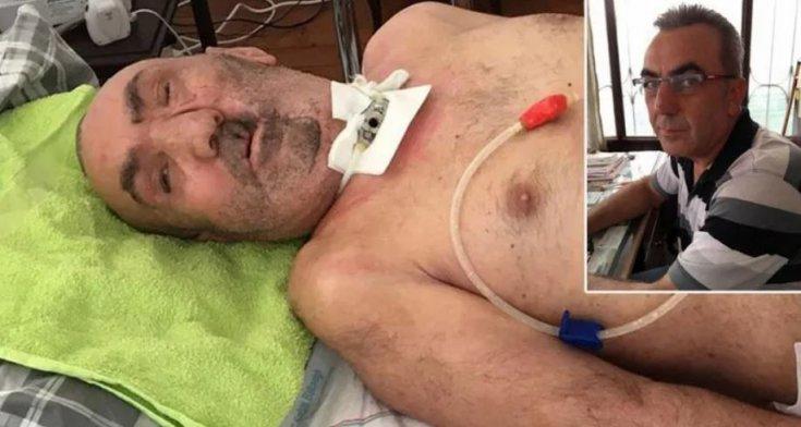 2.5 yıldır bitkisel hayatta olan adam çeklerini ödeyemediği için tutuklandı: 2,5 yıl hastanede kalacak!