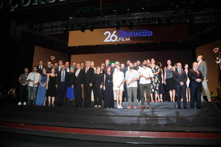 26. Uluslararası Adana Altın Koza Film Festivali'nde ödüller sahiplerini buldu