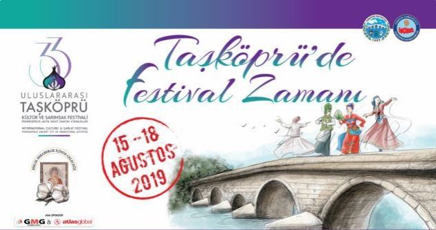 33. Uluslararası Taşköprü Kültür ve Sarımsak Festivali 15 Ağustos'ta başlayacak