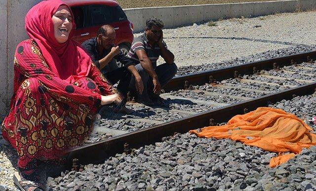 4 yaşındaki kız çocuğu trenin altında kalarak can verdi