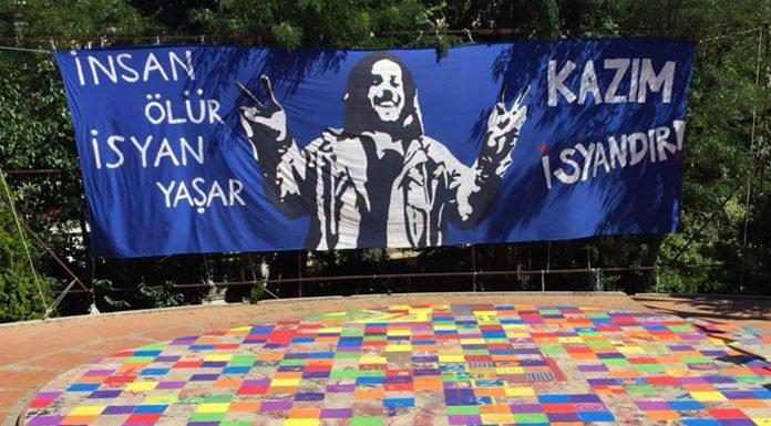 Abbasağa Parkı'ndaki 'Kazım İsyandır' etkinliği bugün başlıyor