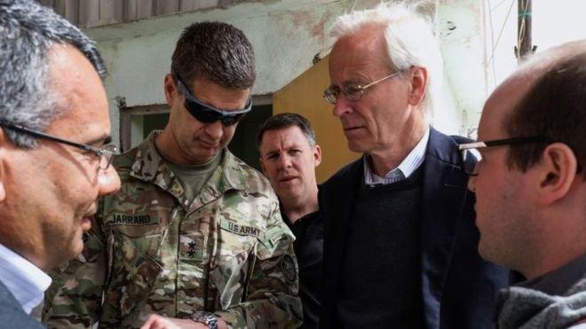 ABD'li yetkilinin Suriye'deki silahlı muhalifleri 'savaş suçu ve etnik temizlikle' suçladığı ortaya çıktı