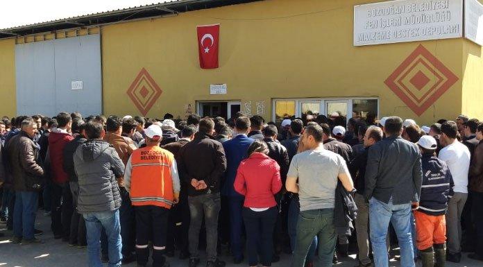 AKP'li Bozdoğan Belediyesi'nde işçi kıyımı