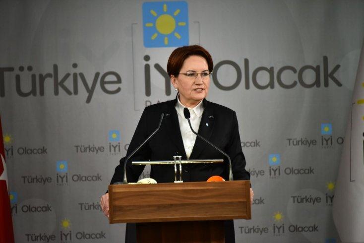 Akşener: 23 Haziran seçimi, demokrasi ve vicdanla milli iradenin gaspı arasında yapılan bir seçim olacak