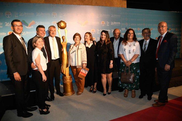 Altın Koza'da 'Yaşam Boyu Başarı ve Emek Ödülleri' sahiplerini buldu