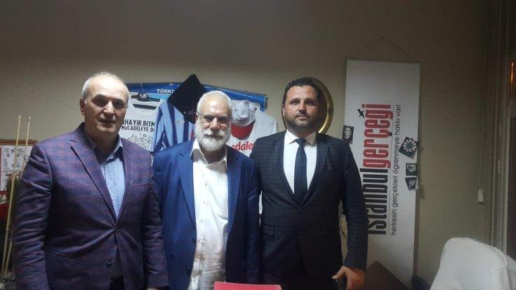 Anadolu Yakası Bosna Sancak Sosyal Yardımlaşma ve Kültür Derneği'nden İmambakır Üküş'e ziyaret