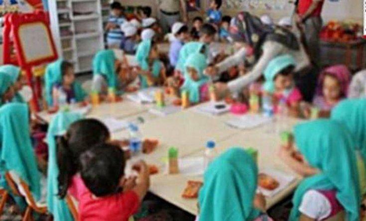 Anaokulunda ailelerden habersiz dini eğitim verilmesine velilerden tepki