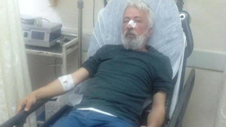 Antalya'da bir gazeteci çalıştığı gazetenin önünde saldırıya uğradı