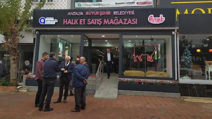 Antalya'da vatandaşa ucuz et satışı başladı