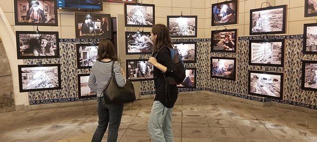 Ara Güler, Karaköy Tünel'de fotoğraf severleri bekliyor