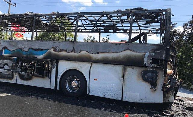 Balıkesir'de yolcu otobüsünde yangın çıktı: 2'si çocuk 5 kişi öldü