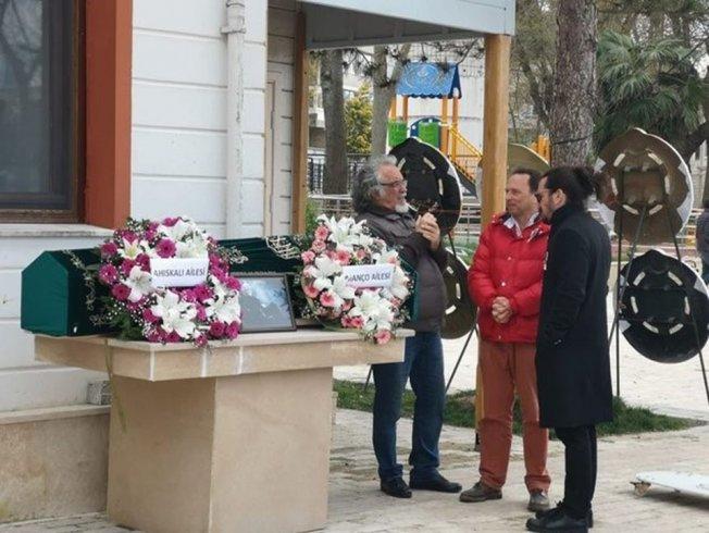 Barış Manço'nun babası son yolculuğuna uğurlandı