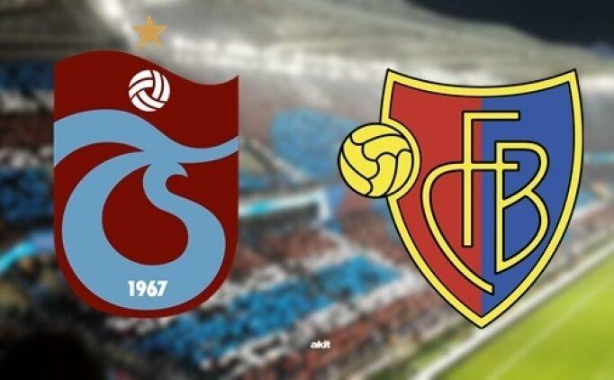 Basel- Trabzonspor bu akşam karşı karşıya geliyor