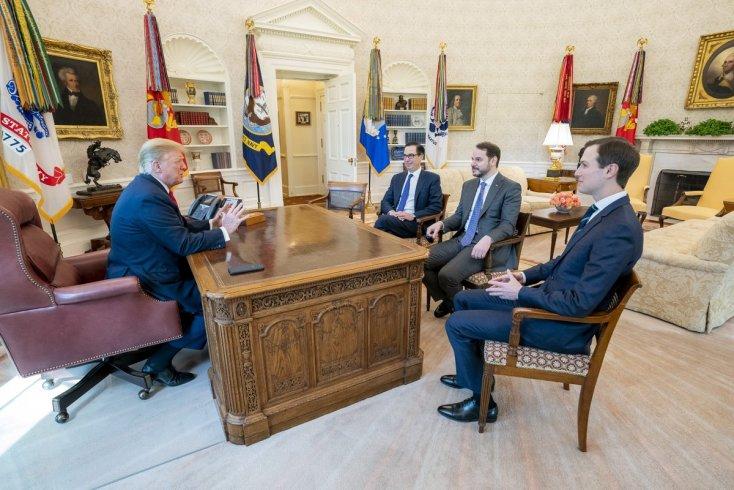 Berat Albayrak, Trump ile görüştü: 'S-400'le alakalı süreçleri gayet makul bir şekilde dinledi'