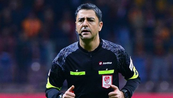 Beşiktaş - Fenerbahçe derbisinin hakemi Bülent Yıldırım oldu