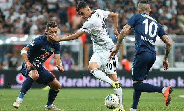 Beşiktaş, Çaykur Rizespor ile: 1-1 berabere kaldı